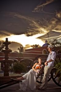 sunset hacienda