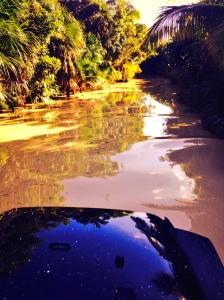 "The ""road"" to Punta Allen! It's a Jeep thing!"
