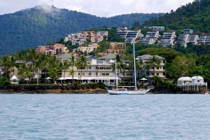 Airlie Beach from the water